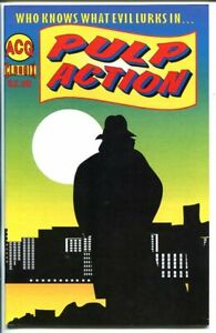 PULP ACTION #6-SHADOW COMIC STRIP REPRINTS-ACG-1999-vf/nm