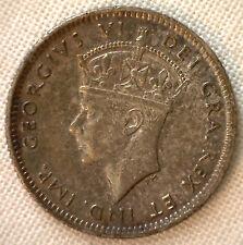 1941 Newfoundland 10 Cents Silver World Coin KM#20 YG #R