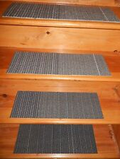 """13 STEP Indoor  Stair Treads Staircase 8"""" x 24"""" Nylon Carpet."""