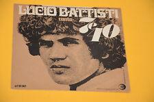 """7"""" 45 LUCIO BATTISTI MI RITORNI IN ME 1° ST ORIG ITALY SOLO COPERTINA ONLY COVER"""