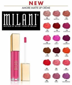 Milani Amore Matte Lip Creme ~ Choose from 16 Shades