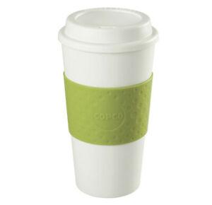Travel Mug Plastic Green 450ml Durable