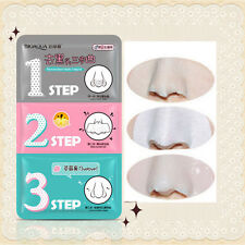 Pig Nose Mask 3 Step Blackhead Acne Remover Pore Clear Kit Face Beauty Cosmetic