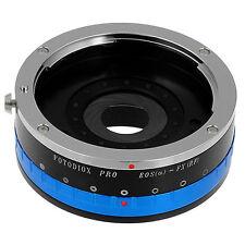 FOTODIOX objectivement-carte par AVEC IRIS CANON EOS (a) EF pour Fujifilm x caméra