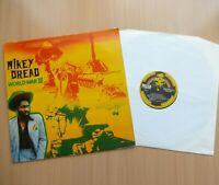 MIKEY DREAD - World War III - Vinyl LP - 1980 Textured Sleeve - ROOTS REGGAE DUB