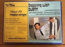 Vintage 1974 The New Magic-Fit Master Pattern Designing with DUSAN Kit