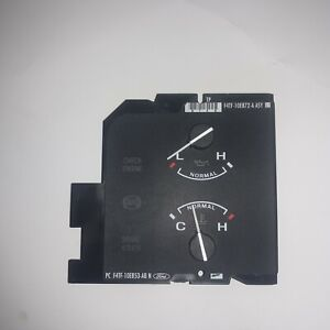 F4TF10E853ABN 1992-96 FORD F150 F250 F350 OIL PRESSURE TEMPERATURE TEMP GAUGE