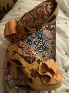 Irregular Choice Hook Line And Sinker Shoes Size 7.5 / 41