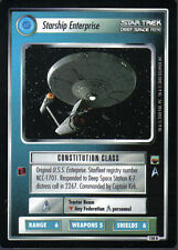 STAR TREK CCG TROUBLE WITH TRIBBLES RARE CARD STARSHIP ENTERPRISE