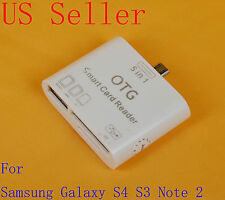 5 in 1 USB Card Reader OTG Connection Kit Adapter for Samsung Galaxy Note 2 S4