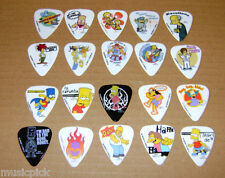 20 Set SIMPSONS Guitar Picks NEW Collection Seven Kings Grover Allman