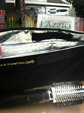 LAZZIO Ionic Ceramic Boar Bristle Hot Air Smooth Brush
