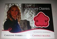 VAMPIRE DIARIES SEASON 2 COSTUME/WARDROBE CARD 21 Caroline Forbes/Candice Accola
