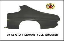 70 71 72 GTO LEMANS OE FACTORY STYLE FULL QUARTER PANEL LH - DRIVER'S SIDE NEW