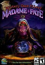 MADAME FATE MYSTERY CASE FILES Excellent Condition Game Disc w/Manual PC/CDROM