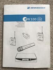 sennheiser ew100 g2 Instructions For Use Multi Language