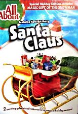 All About Santa Claus/Magic Gift of the Snowman  NEW DVD, CHILDRENS HOLIDAY SHOW