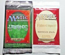 * Homelands / Fallen Empires - Booster Pack Combo * New From Sealed Box - MTG