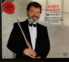 James Galway / James Galway Plays Mozart - 2CD Fatbox - MINT
