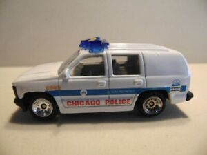 Golden Wheels 'CHICAGO POLICE' Chevrolet - Mint Condition, unpackaged