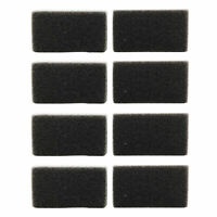 8 Reusable Foam Filters for Respironics PR System One REMStar BiPAP ST Machine