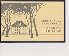 Finland Manor Houses Booklet Mnh Scott 672