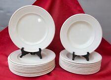 Faience Wedgood Edme 10 assiettes plates et 10 salades