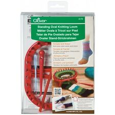 Clover Standing Oval Knitting Loom Socks Gloves Leg Warmers with Instructions