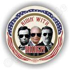 "2020 Ridin' With Joe Biden President 3"" Abe Ike TR Campaign Pin Pinback Button"
