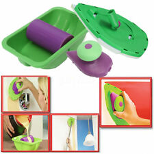 Set 1 Point Paint Pad Painting Roller Tray Sponge Kit Brush Home Wall Decor Tool