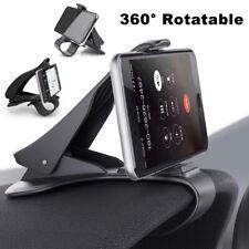 Smart Phone Holder GPS Dashboard Mount Clip-on Bracket in Car