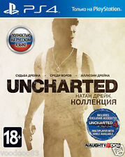 Uncharted: The Nathan Drake Collection (PS4, 2015) Russian,English version