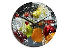 Wanduhr Erfrischendes Obst HDF Deko Uhr Küche Esszimmer Bild Küche Esszimmer
