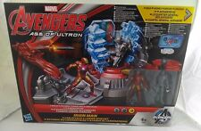 New Iron man superhero Marvel age of ultron Iron man lab attack toy by  Hasbro