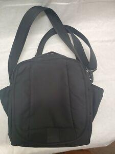 Pacsafe Computer Bag Black Shoulder Anti-Theft