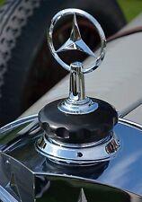 1928 Mercedes-Benz 680S Torpedo Radiator Cap Vintage Classic Car Photo CA-0946