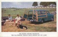 Morris Oxford Traveller original Factory issued colour postcard