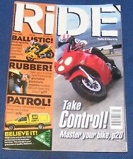 RIDE MAGAZINE MAY 1999 - TAKE CONTROL!