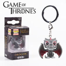 Hot Funko POP Pocket Keychain Game of Thrones The Dragon PVC Keyring With Box UK