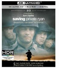 Saving Private Ryan (4K Ultra Hd Blu-ray, 2018, 4K Ultra Hd Blu-ray/Blu-ray)