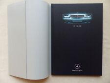 Mercedes-Benz S-Klasse S500 S600 - Typ 220 - Hardcover Prospekt Brochure 05.1999