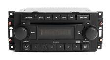 Jeep Dodge Chrysler Radio 2004-2010 AM FM CD Aux mp3 iPod Input P05064171AE REF