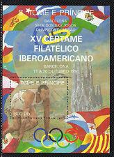 Santo Tomé y Principe Certamen filatelico Iberoamericano año 1992 (CW-217)