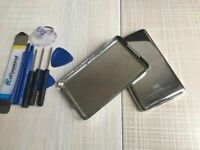Metal Back Rear Housing Case Cover panel for iPod 7th Gen Classic 160GB(thin)