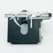 Leitz Microscope Stage on Dovetail Ortholux Dialux Laborlux