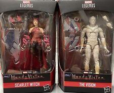 Marvel Legends Wandavision Scarlet Witch The Vision Falcon Cap America BAF NIB