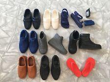 Lot of 9 Ken Doll Shoe Pairs Barbie's Boyfriend Sandal Loafe 00004000 r Accessories Mattel