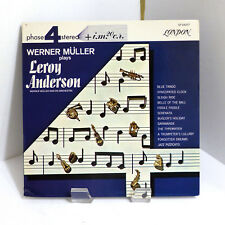 1964 Werner Müller Orchestra Plays Leroy Anderson London SP 44057 Mint Stereo LP