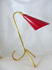 Ancienne lampe tripode Moderniste Cocotte Style Boris Lacroix 1950 Orientable