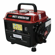Costway 1200W Gasoline Generator 2 Stroke 63cc Single Cylinder Gas Powered EPA